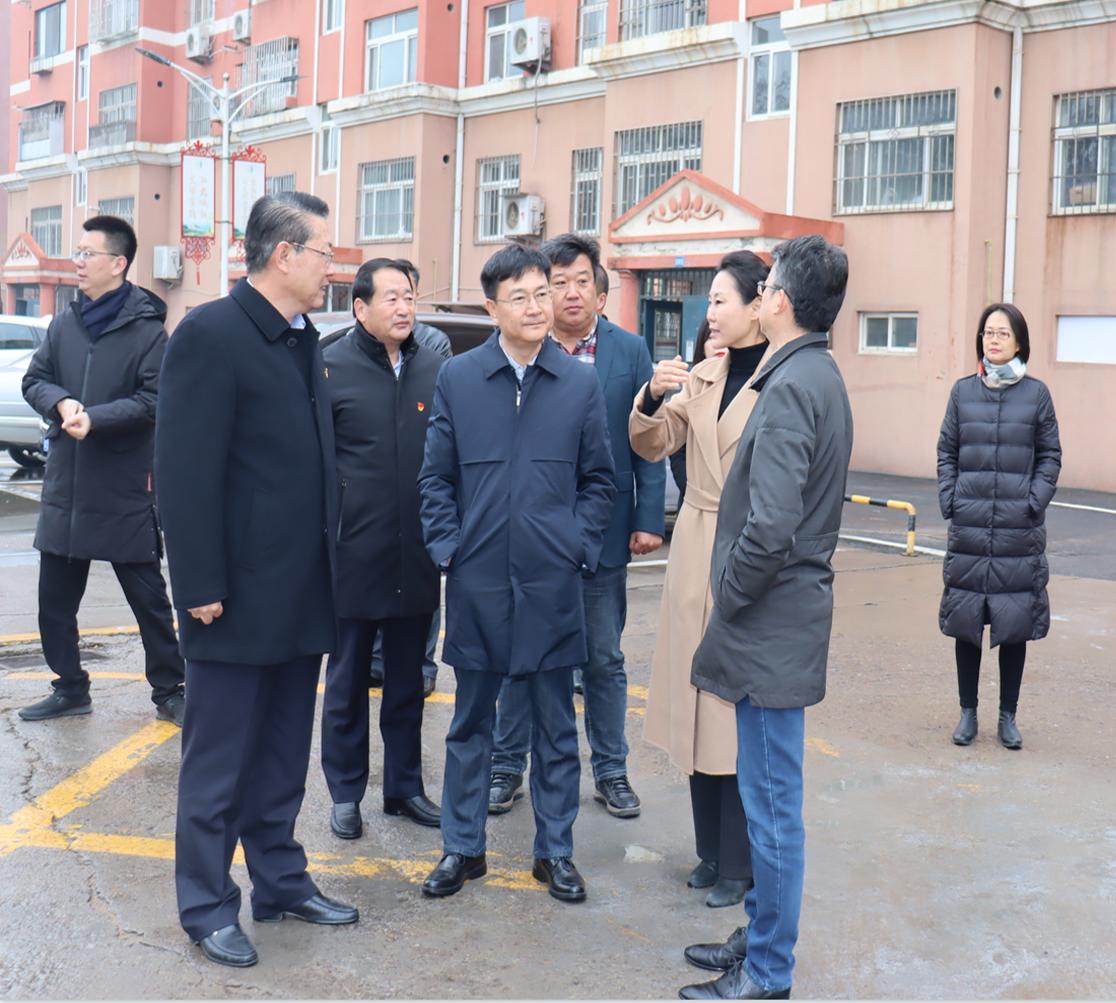 城阳街道党工委书记徐奎旺莅临社区视察指导工作