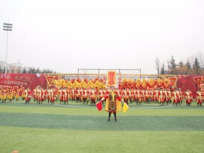 奋进新时代 再创新辉煌 社区龙狮表演节目《龙腾鼓乐贺新春》在城阳街道 第二十五届民间艺术节震撼上演
