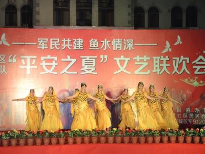 """军民共建 鱼水情深--城阳村社区91206部队""""平安之夏""""文艺联欢会圆满成功"""