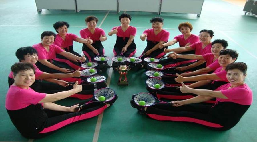 热烈祝贺社区代表队荣获城阳区第十五届市民运动会暨第二届中老年人柔力球比赛最佳风采奖