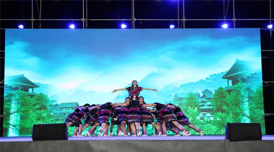 """祝贺社区舞蹈《阿佤山寨》荣获""""幸福起舞 共享阳光""""2020城阳街道广场舞大赛一等奖"""
